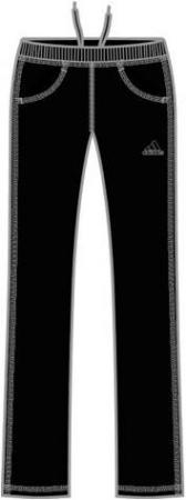 阿迪达斯 针织长裤 P86516黑