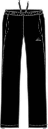 阿迪达斯 梭织长裤 P74237黑