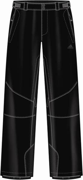 阿迪达斯 滑雪裤 P91202黑