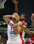 图文-[钻石杯]中国男篮VS伊朗 姚明一扛二