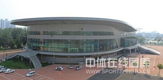 图文-男篮世锦赛天津比赛场馆即景南开大学体育馆
