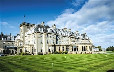 莱德杯举办地PGA世纪球场:苏格兰最长内陆球场