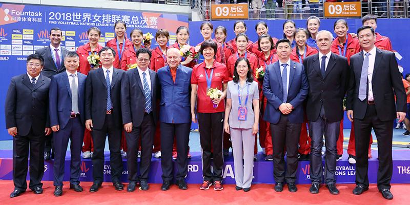 2018世界女排联赛总决赛冠军战土耳其2-3不敌美国队 朱婷获最佳主攻