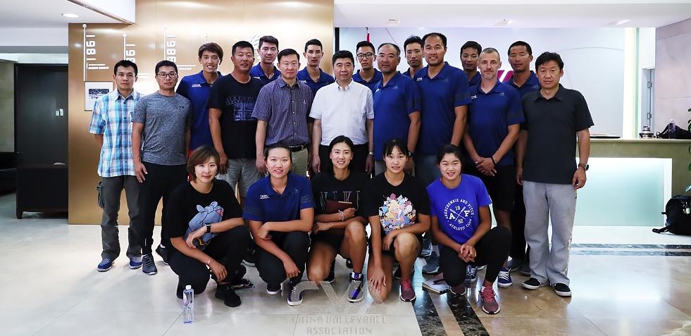 国家沙滩排球队召开东京奥运会倒计时一周年部署动员会议