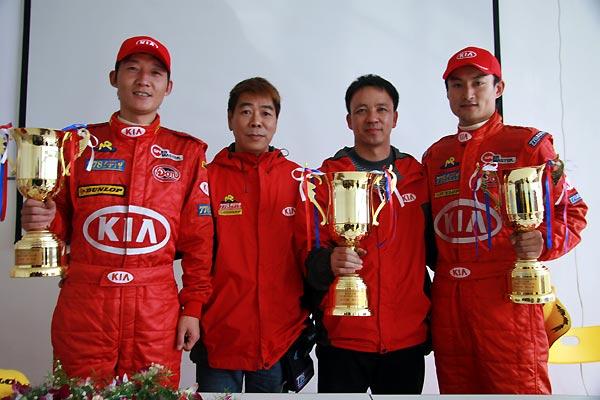 东风悦达起亚778车队夺冠高华阳王少峰同登奖台