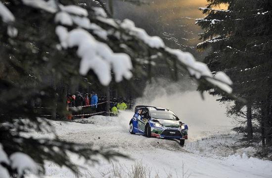 瑞典的冰雪赛道是北欧车手的最爱
