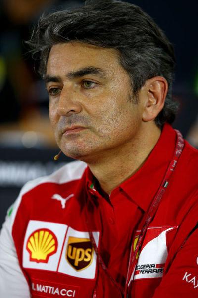 法拉利车队领队马科-马蒂亚西