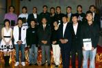 图文-2007中国赛车金榜颁奖获奖者与主持人合影