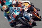 图文-MotoGP西班牙站排位赛125cc塔尔马西过弯