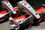 图文-F1巴林站首次练习赛两具印度力量前翼