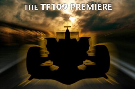 图文-丰田发布F1新车TF109新车揭幕倒计时
