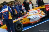 图文-F1阿尔加夫试车第三日阿隆索驾驶耀眼的R29归来