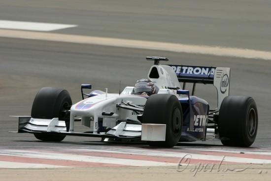 图文-F1巴林试车第5日克莱恩被宝马委以重任