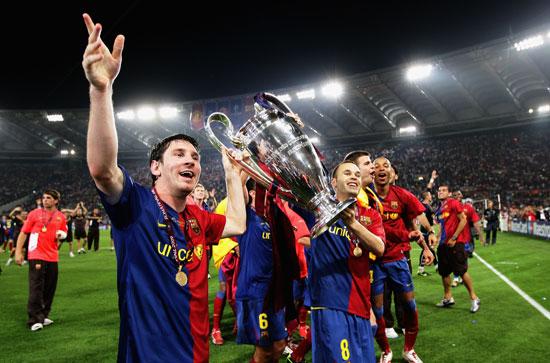 欧洲足坛进入西班牙时代脱帽!向他们的漂亮致敬