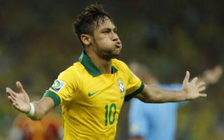 联合会杯-内马尔破门锋霸2球巴西3-0西班牙3连冠
