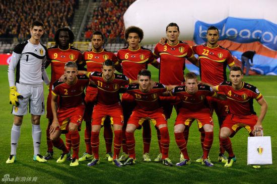 比利时队合影
