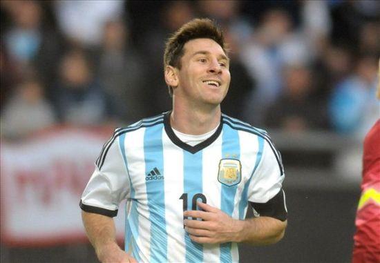 梅西_梅西阿根廷球衣adidas