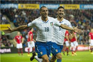 欧预赛-新星首球且中楣尤文铁卫破门意大利2-0胜