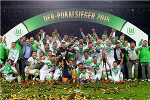 德国杯-德布劳内反超狼堡3-1逆转多特首夺冠