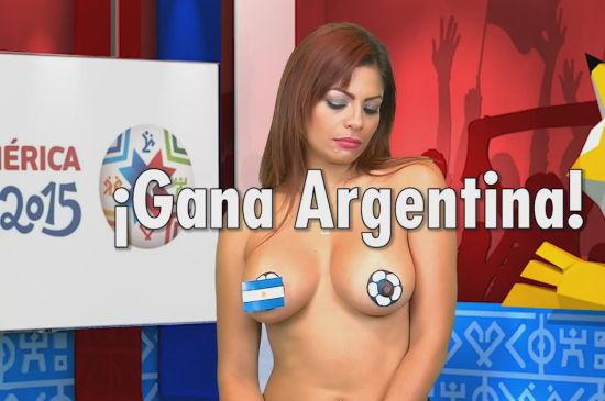 国旗没掉!阿根廷要赢!