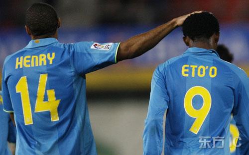 图文-[西甲]马洛卡0-2巴塞罗那两超级射手珠联璧合