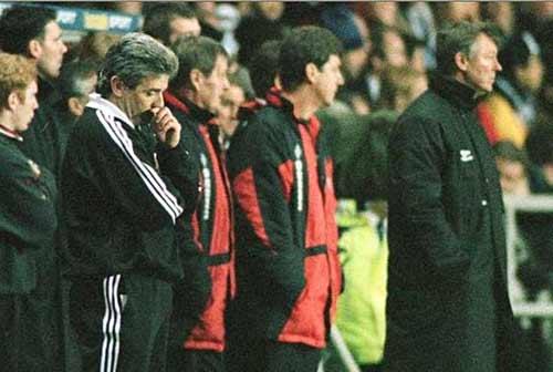 图文-基冈足球生涯老照片96年曼联翻盘之痛刻骨铭心