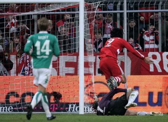图文-[德甲]拜仁vs不来梅托尼被放翻赢得点球