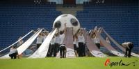 图文-瑞士积极准备欧锦赛开幕式工作人员繁忙布置