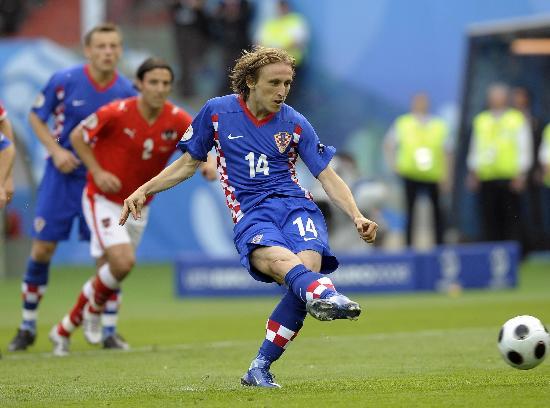 图文-[欧洲杯]奥地利VS克罗地亚摩德里奇攻入点球