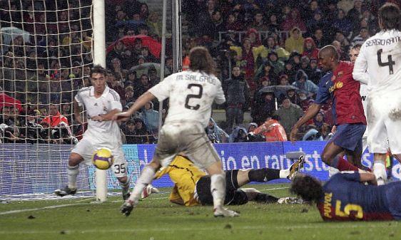 图文-[西甲]巴塞罗那2-0皇马他令皇马众将措手不及
