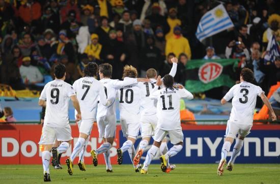 图文-[小组赛]南非0-3乌拉圭团结一致的乌拉圭