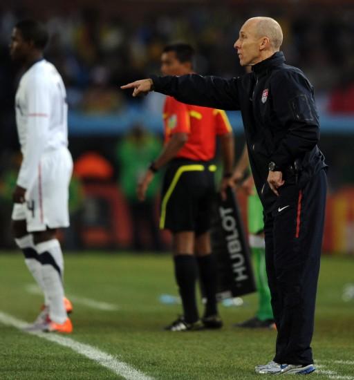 图文-[小组赛]美国1-0阿尔及利亚布拉德利指挥