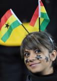 加纳队美女球迷