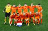荷兰队首发球员合影