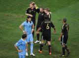 德国队庆祝胜利