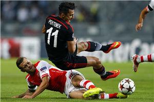 欧冠-切尔西弃将险破门拉姆塞红牌阿森纳客场平