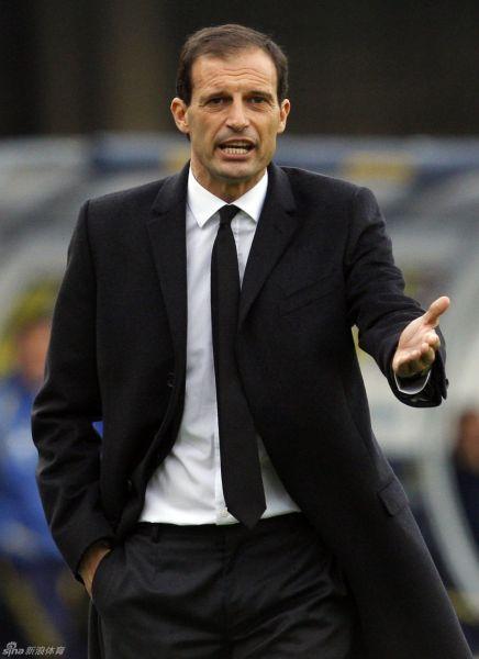 阿莱格里仍旧对AC米兰的表现表示了满意
