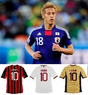 本田圭佑加盟AC米兰之后将拿到10号球衣