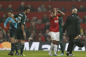 欧冠-C罗进球纳尼争议红牌皇马客场2-1淘汰曼联