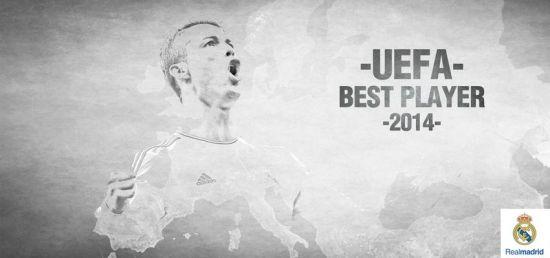 C罗当选欧洲赛季最佳球员