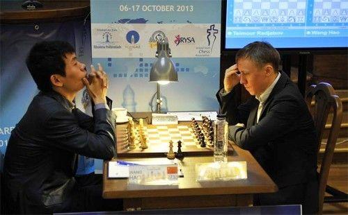 王皓收官战击败前世界冠军波诺马廖夫