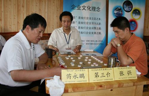 图文-象甲第16轮北京VS沈阳张强主场迎战苗永鹏