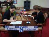 图文-国象世锦赛16强战现场小科辛采娃对阵强敌