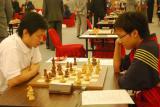 图文-智运会国象超快棋赛首日章钟代表新加坡