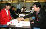 图文-10月6日智运会围棋男子个人赛刘星PK香港棋手