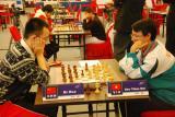 图文-智运会国象混双中国第6金倪华在认真思考