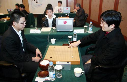 图文-第2届BC卡杯64强战现场丁伟大战崔明勋