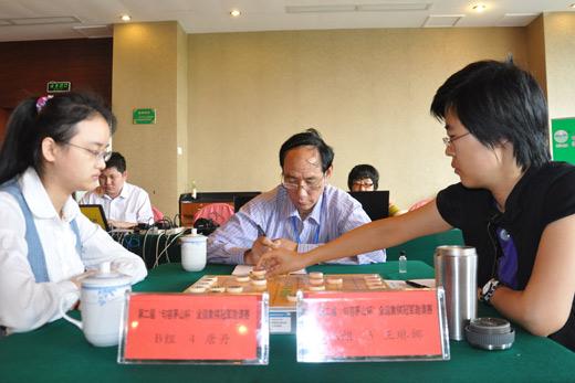 图文-茅山杯同名次决赛现场王琳娜决战唐丹