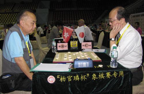 图文-杨官�U杯第3轮现场聚焦香港老将雷雄才