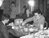 陈祖德和日本棋手对弈